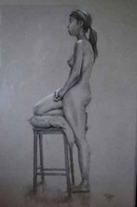 nude artwork by Brian Murphy