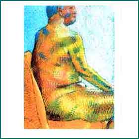 nude artwork of Kenneth Fahy