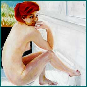 nude artwork by peter reeds